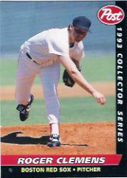 1993 Post #4 Roger Clemens