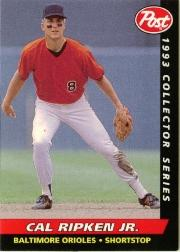1993 Post #9 Cal Ripken