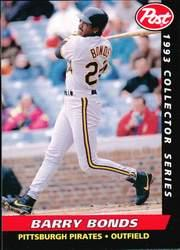 1993 Post #15 Barry Bonds