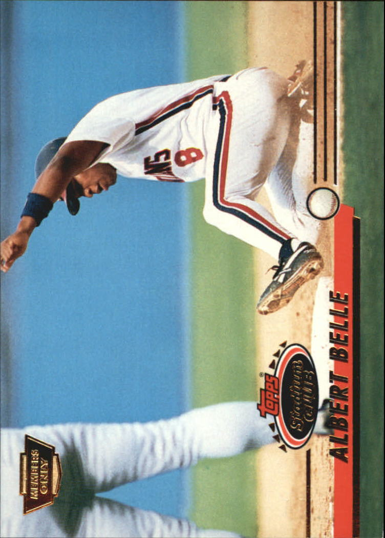 1993 Stadium Club Members Only Parallel #102 Albert Belle