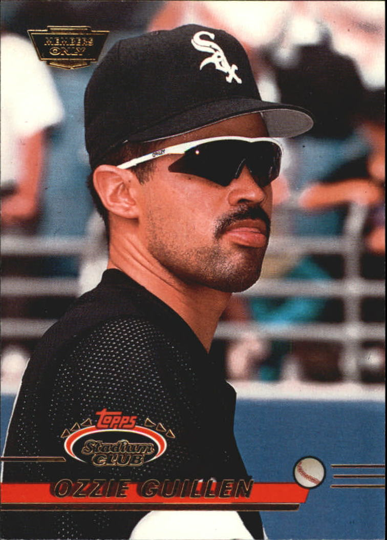1993 Stadium Club Members Only Parallel #517 Ozzie Guillen