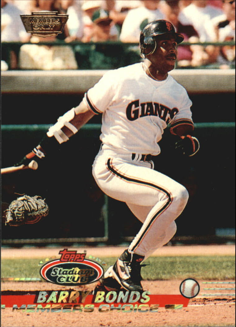 1993 Stadium Club Members Only Parallel #747 Barry Bonds MC