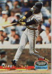 1993 Stadium Club Ultra-Pro #4 Barry Bonds/Bat extended