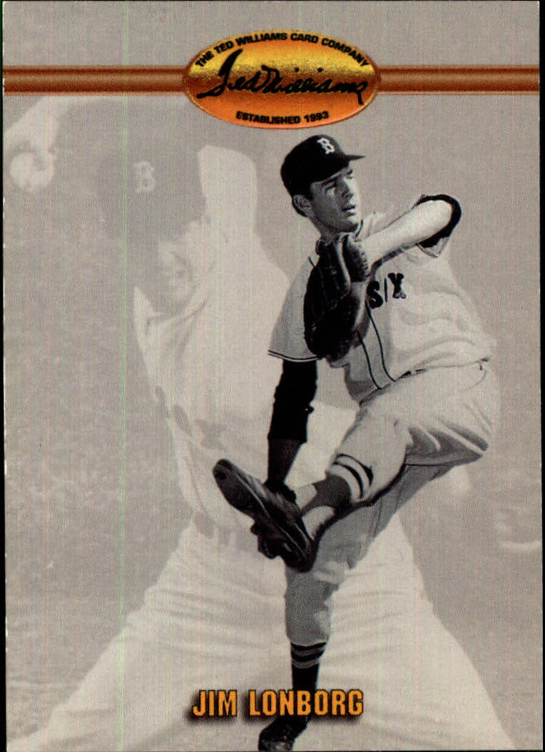 1993 Ted Williams #3 Jim Lonborg
