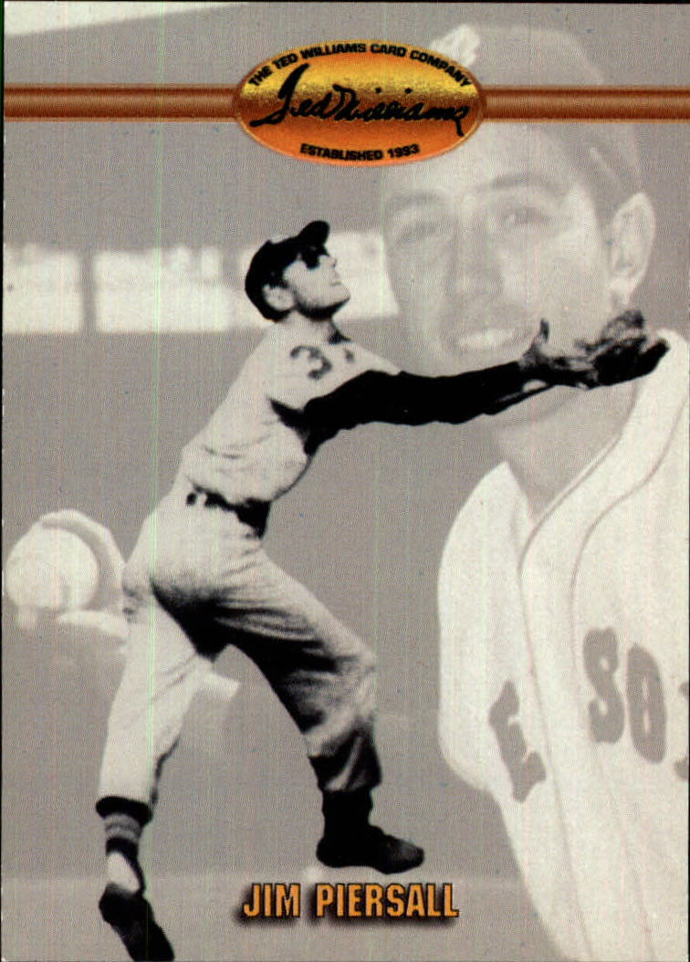 1993 Ted Williams #5 Jim Piersall