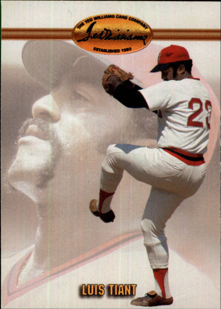 1993 Ted Williams #6 Luis Tiant
