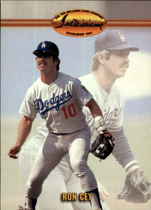 1993 Ted Williams #10 Ron Cey