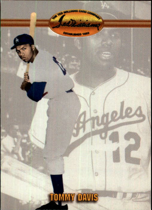 1993 Ted Williams #11 Tommy Davis front image