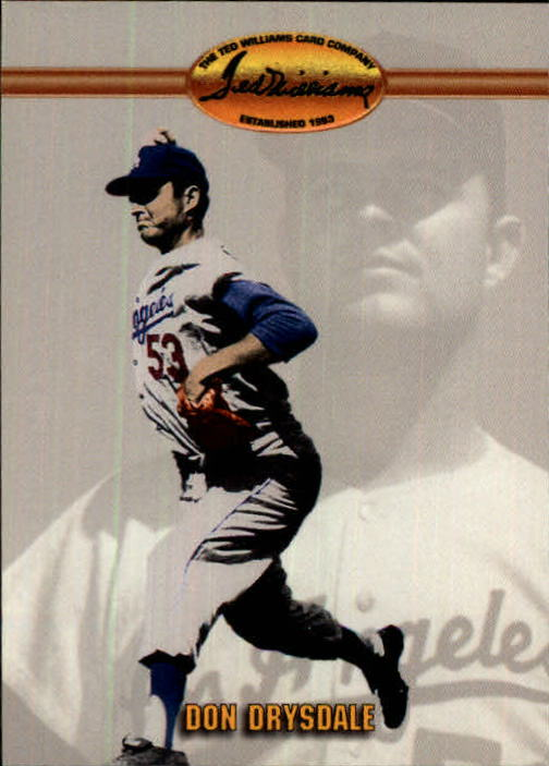1993 Ted Williams #12 Don Drysdale front image