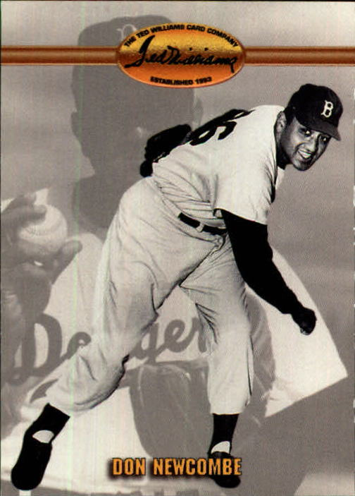 1993 Ted Williams #15 Don Newcombe front image