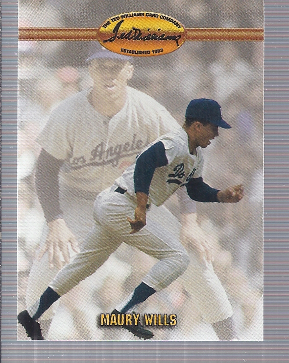 1993 Ted Williams #17 Maury Wills