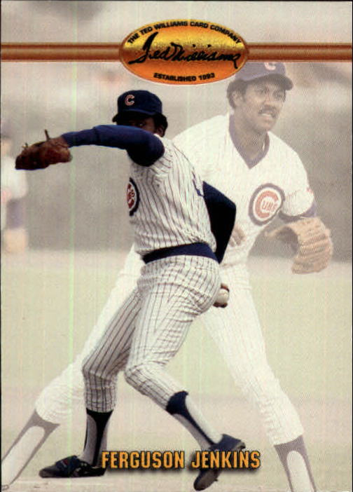 1993 Ted Williams #22 Ferguson Jenkins