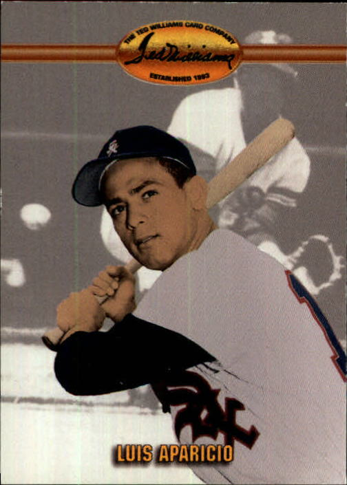 1993 Ted Williams #25 Luis Aparicio