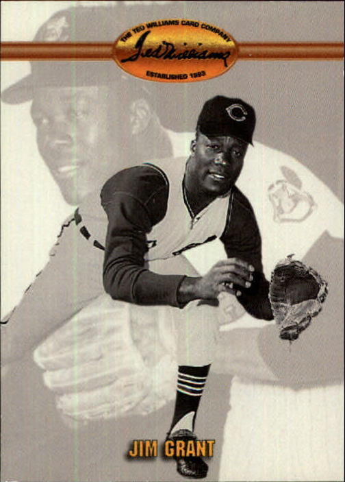 1993 Ted Williams #34 Jim(Mudcat) Grant front image