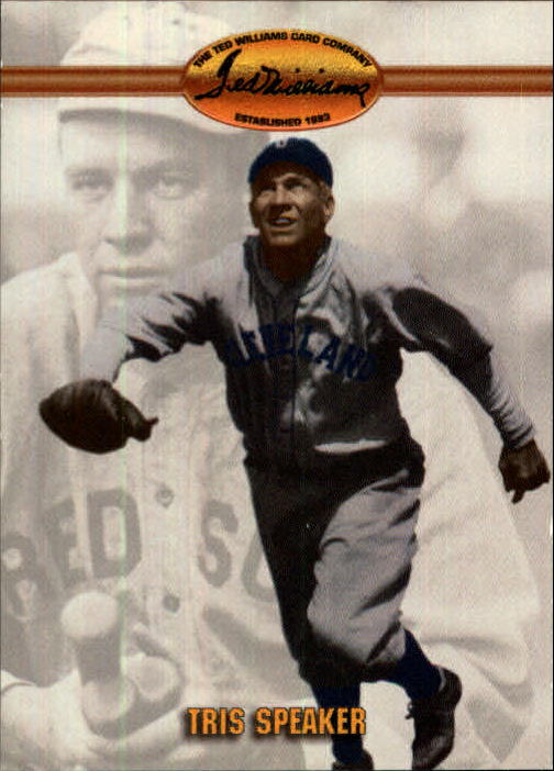 1993 Ted Williams #35 Tris Speaker