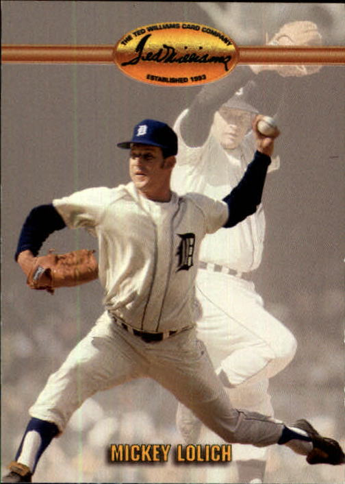 1993 Ted Williams #40 Mickey Lolich