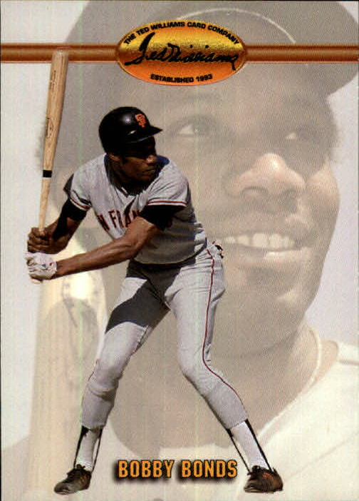 1993 Ted Williams #51 Bobby Bonds