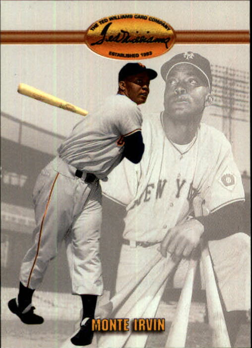 1993 Ted Williams #54 Monte Irvin