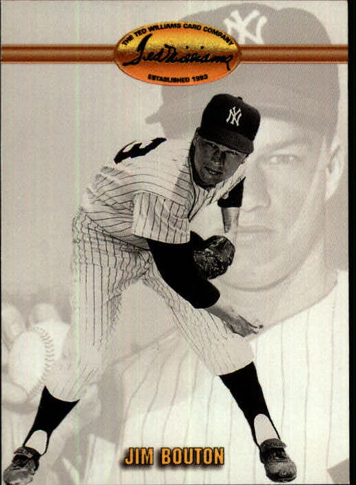 1993 Ted Williams #60 Jim Bouton