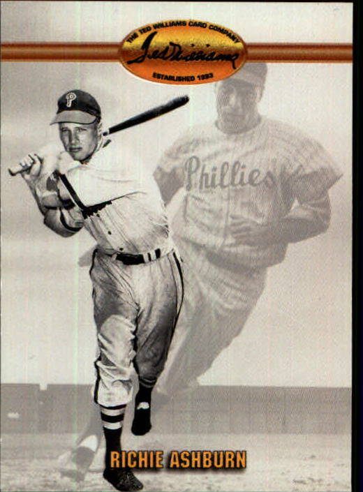 1993 Ted Williams #70 Richie Ashburn