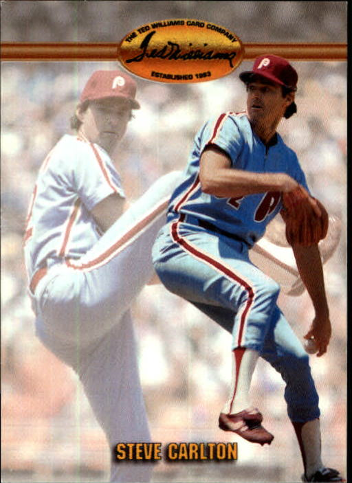 1993 Ted Williams #72 Steve Carlton