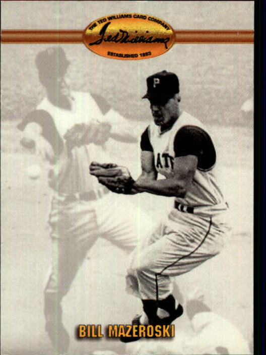 1993 Ted Williams #78 Bill Mazeroski