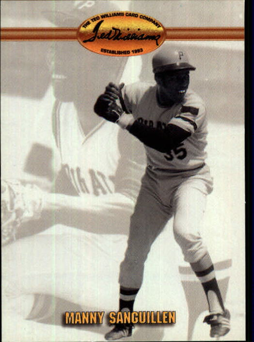 1993 Ted Williams #80 Manny Sanguillen