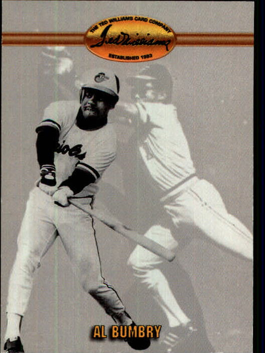 1993 Ted Williams #82 Al Bumbry