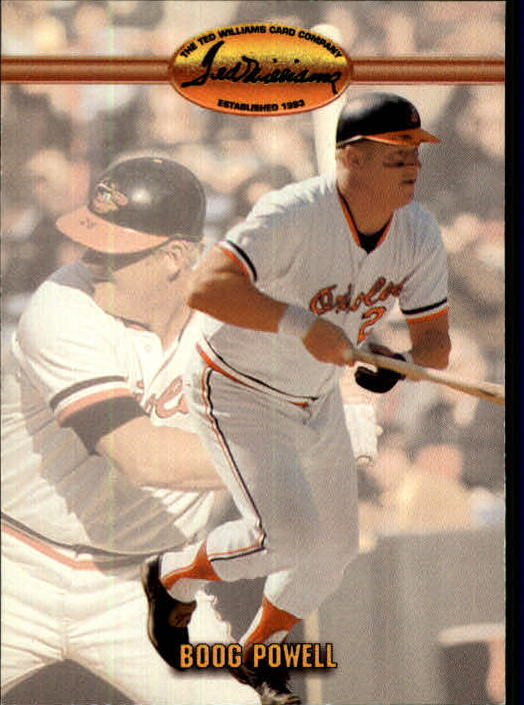1993 Ted Williams #84 Boog Powell