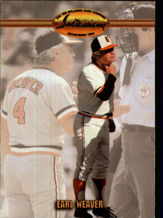 1993 Ted Williams #85 Earl Weaver MG