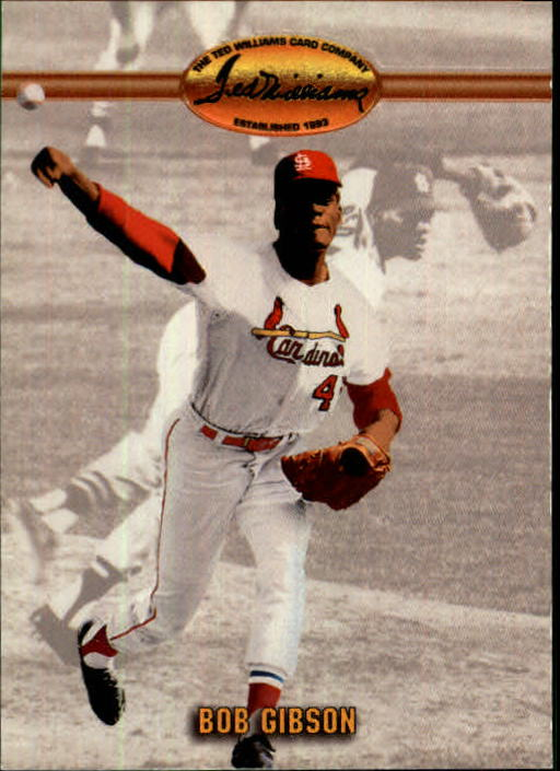 1993 Ted Williams #90 Bob Gibson front image