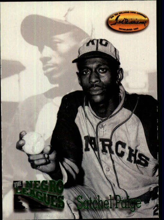 1993 Ted Williams #112 Satchel Paige front image