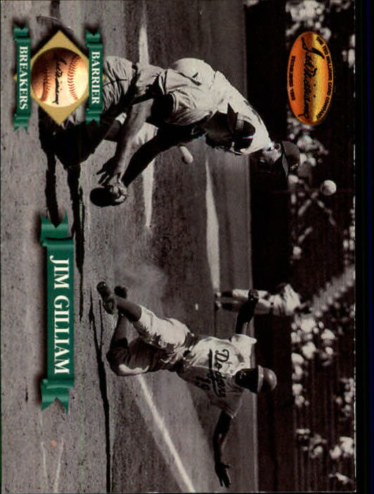 1993 Ted Williams #135 Jim Gilliam front image