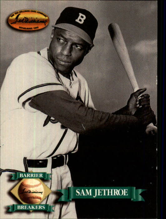 1993 Ted Williams #137 Sam Jethroe front image