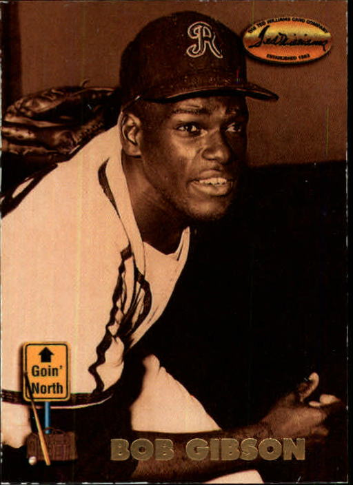 1993 Ted Williams #142 Bob Gibson front image