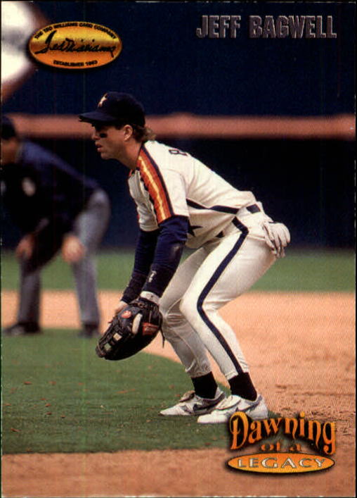 1993 Ted Williams #157 Jeff Bagwell/Movin' Up Then Out