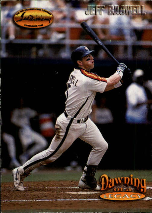 1993 Ted Williams #159 Jeff Bagwell/Year 2