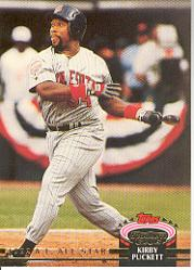1993 Stadium Club Murphy #28 Kirby Puckett AS