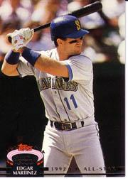 1993 Stadium Club Murphy #159 Edgar Martinez