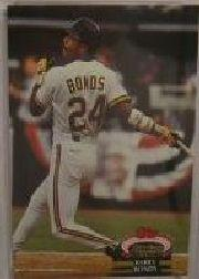 1993 Stadium Club Murphy #161 Barry Bonds AS