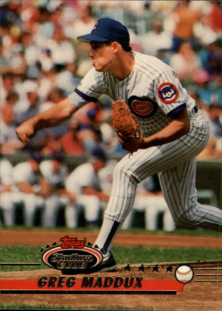 1993 Stadium Club #2 Greg Maddux