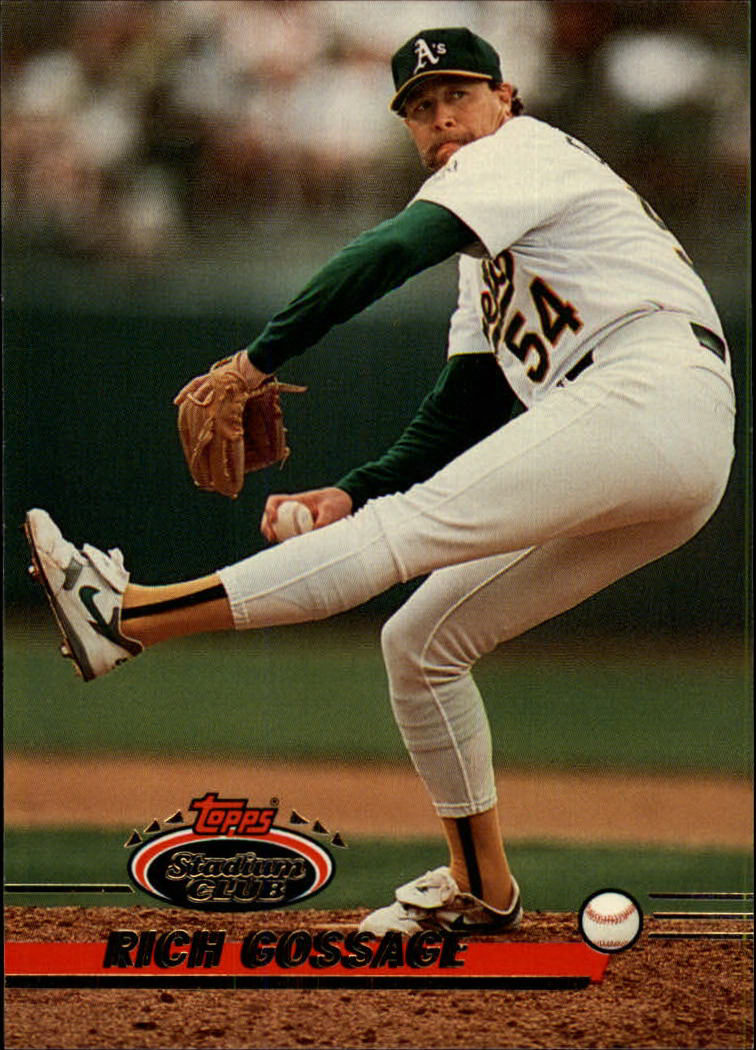 1993 Stadium Club #17 Rich Gossage front image