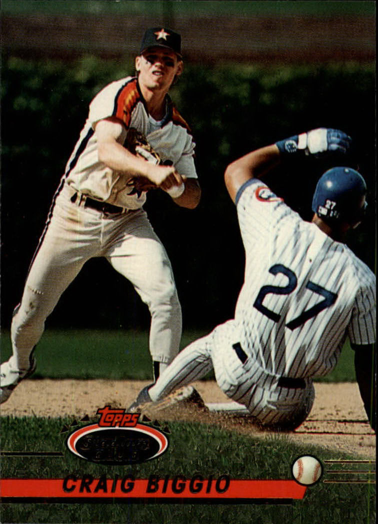 1993 Stadium Club #183 Craig Biggio