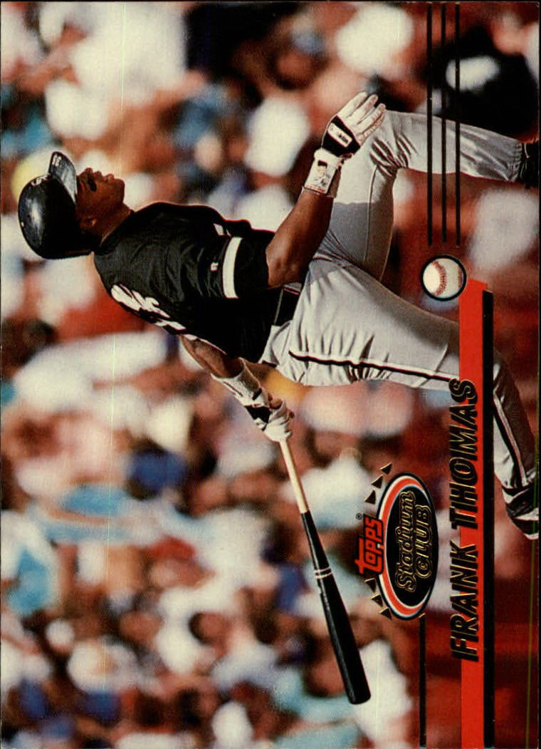 1993 Stadium Club #200 Frank Thomas