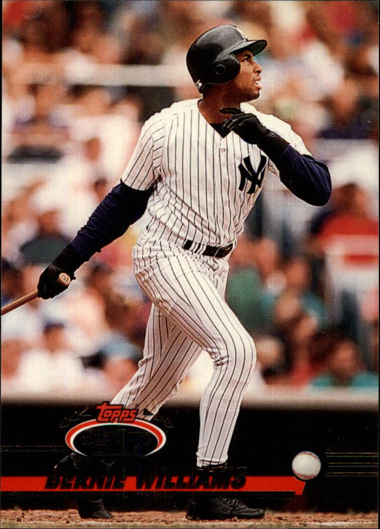 1993 Stadium Club #364 Bernie Williams