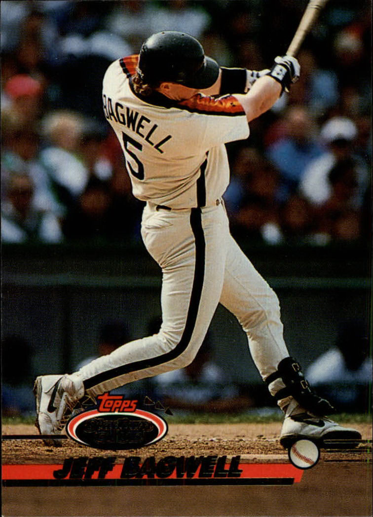 1993 Stadium Club #384 Jeff Bagwell