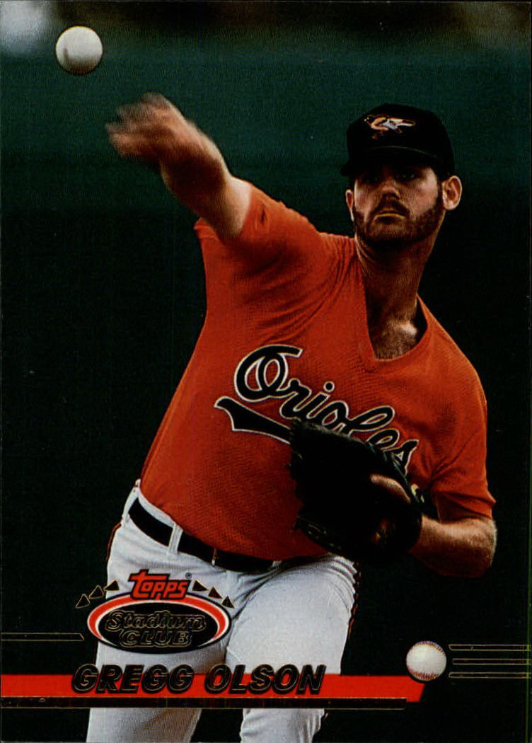 1993 Stadium Club #418 Gregg Olson