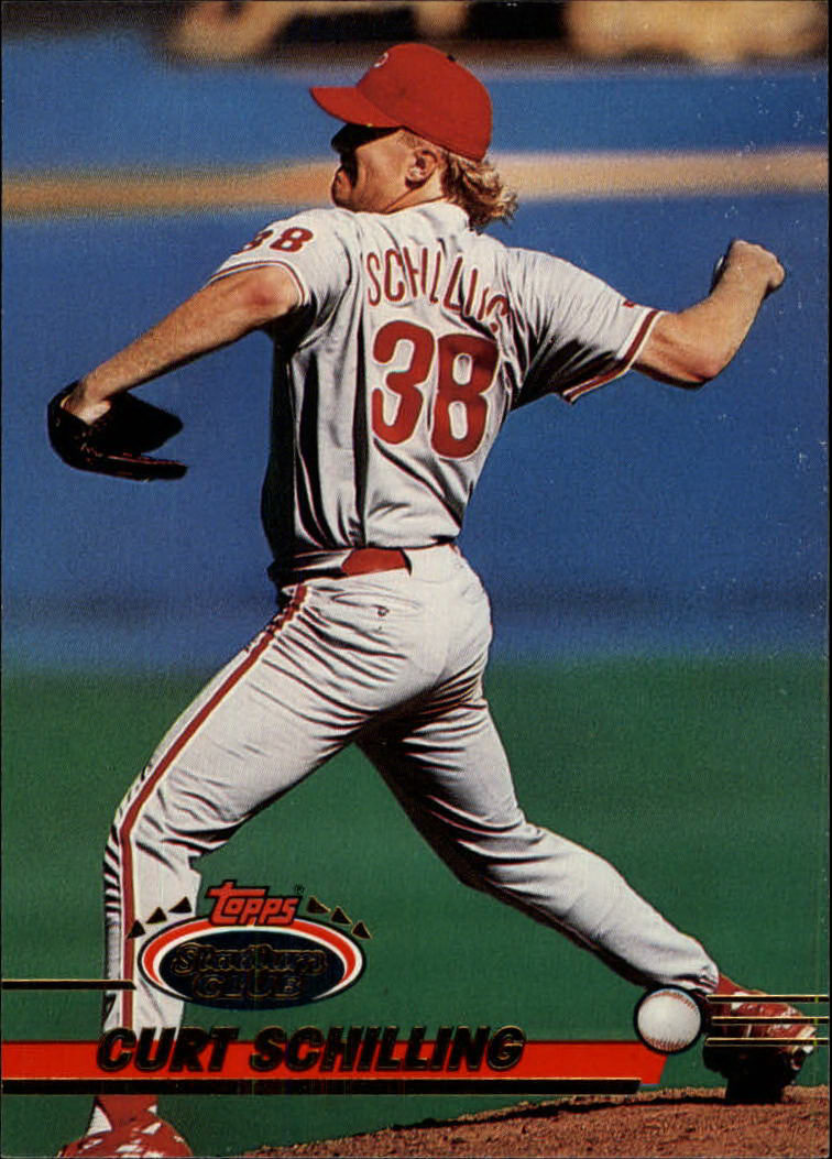1993 Stadium Club #422 Curt Schilling