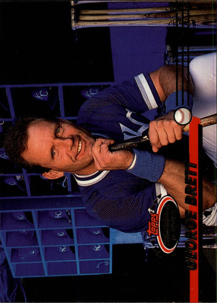 1993 Stadium Club #424 George Brett