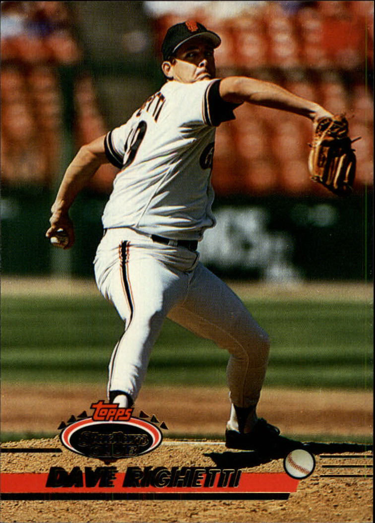 1993 Stadium Club #431 Dave Righetti